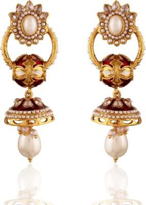Panini Beautiful Pari Alloy Jhumki Earring
