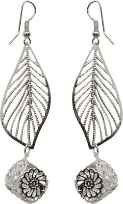 Grand Jewels Leaf2 Alloy Drop Earring
