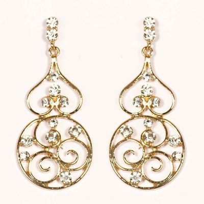 Urthn Attractive Design Gold -1301630 Alloy Drop Earring