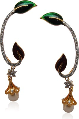 My Sara Earing for women for party Brass Cuff Earring