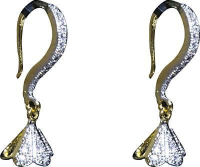 Mini Muskan Cz Earring Cubic Zirconia Brass Dangle Earring