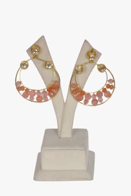 Saga Beads Piccaso Baalis Alloy Chandbali Earring