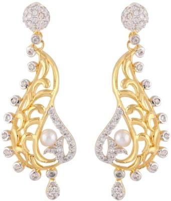 the jewelbox Filigree Copper Drop Earring