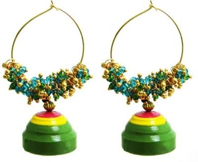 Sowbhagya Enterprises quilling Alloy Drop Earring