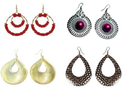 Laron Handicrafts Classy Drops Metal Earring Set