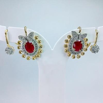 Fashion Max Bluetooth Pattern Ethnic Design Brass Cuff Earring