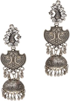ZeroKaata Rajasthani Gypsy Caravan Metal Jhumki Earring