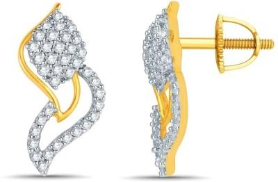 Mani Jewel Yellow Gold 14kt Stud Earring