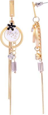 Maisha Royal Gold and silver. Alloy Drop Earring