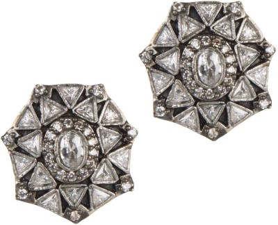 Mehtaphor Vani Brass Stud Earring