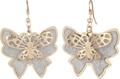 GemRoute Celestial Spark Butterfly Alloy Dangle Earring