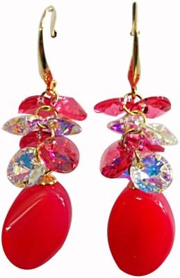 Dream Jewels Beatle Swarovski Crystal Zinc Dangle Earring