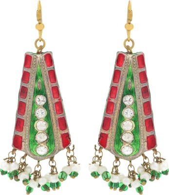 Happy States Embellished Lac Dangle Earring