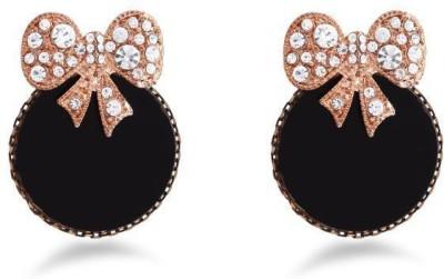 Jazz Jewellery Fine Jewels by Jazz Jewellery Black & Gold Drop Earrings Alloy Drop Earring