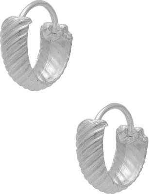 Factorywala STERLING 92.5 Silver Hoop Earring