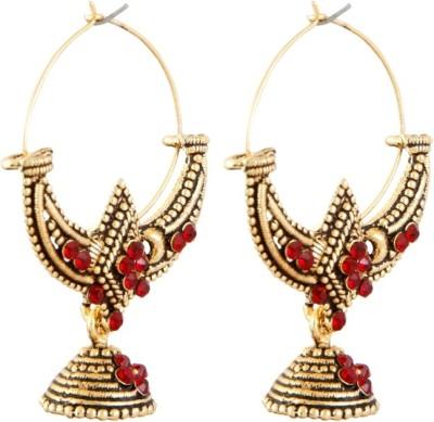 Aanya Creations Hanging Baali Alloy Jhumki Earring