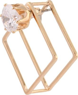 Dillidil Zircon Metal Earring Set
