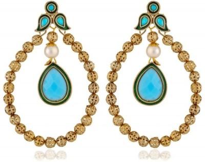 Rooh Jewellery Antiqique Brass Dangle Earring