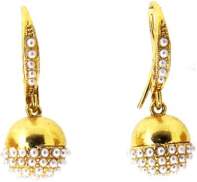 Aabhushan Pearl Alloy Drop Earring