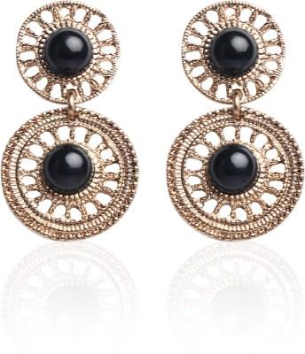 Celestia Eclat Black Drop Earring Alloy Drop Earring