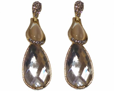 Modish Look Beautiful silver crystal Sparkling Alloy Drop Earring
