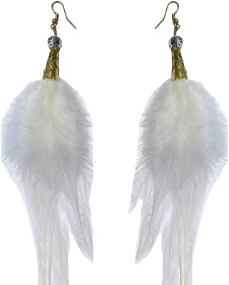 Shreya Collection Spring Sparkle-White Alloy Dangle Earring
