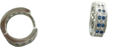 Vummidi Bangaru Chetty & Sons Dazzling Bali Sterling Silver Clip-on Earring