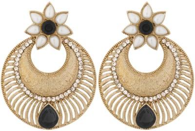 the jewelbox Antique Copper Chandbali Earring