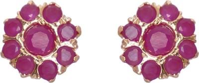 Janki Jewellers Fancy Cubic Zirconia Alloy Stud Earring
