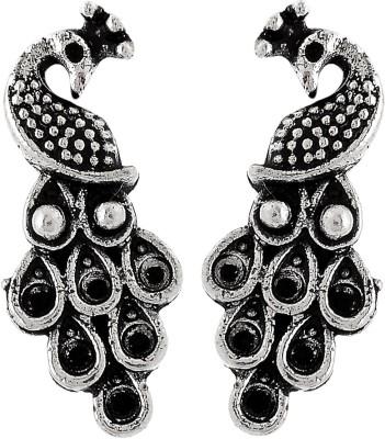 Subharpit Cute Peacock Metal Stud Earring