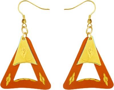 Kenway Retail Vibrant Desire Brass Dangle Earring