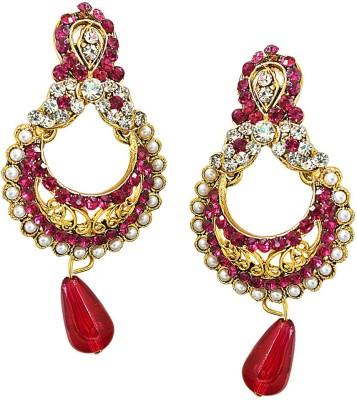 Surat Diamond Radiant Attraction Metal Chandbali Earring