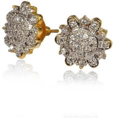Rashi Jewellery Star Shape Brass Stud Earring