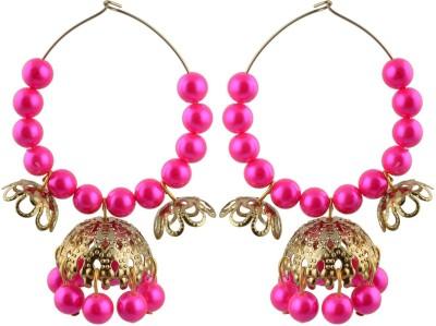 TrinketsANDTreasures Spring Sparkle Alloy Hoop Earring