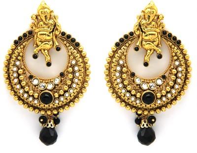 Ada Jewel Alloy Chandelier Earring