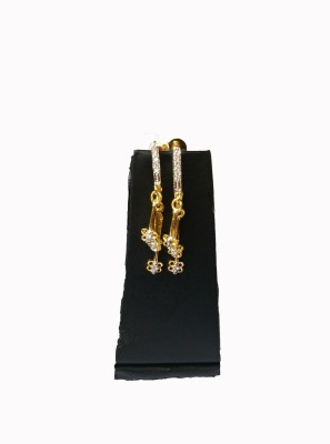 Shopping Villa sve000102 Zircon Yellow Gold Stick-on Earring