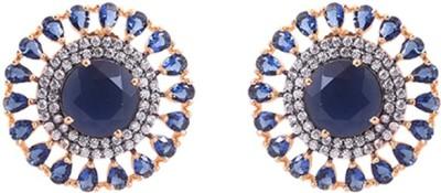 Dulhan 11 Zircon Alloy Stud Earring