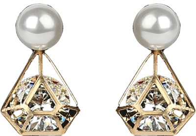 R18Jewels-Fashion&U Sparkling Fashion Metal, Crystal Drop Earring