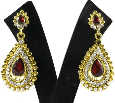 Tradeyard Impex Magnificient Cubic Zirconia Alloy Drop Earring