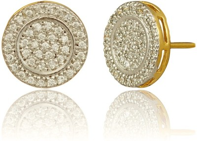 RC Designer Brass, Copper Hoop Earring