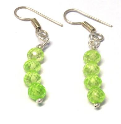 Chouhangems Light Weight Woman Fashion Beads Glass Dangle Earring