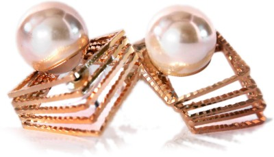 Bigpout pearls Alloy Stud Earring