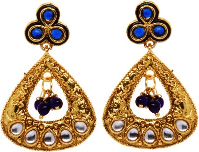 Rays 843907151 Pearl, Crystal Copper, Zinc Drop Earring