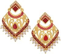 Maayra Bright Designer Copper Drop Earring best price on Flipkart @ Rs. 545