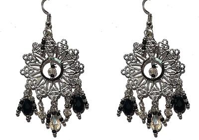 SGE SGE-5 Beads Metal, Stone Chandelier Earring