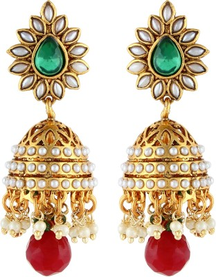 Aadi Creations Ethnic Grace Copper, Brass Jhumki Earring