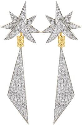 Dilan Jewels EAR000017 Zircon Alloy Dangle Earring