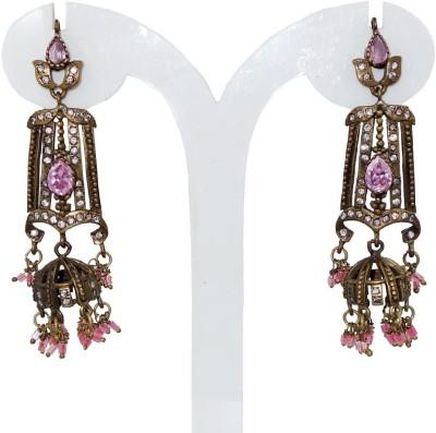 Anjan Sensational Traditional Golden Alloy Jhumki Earring
