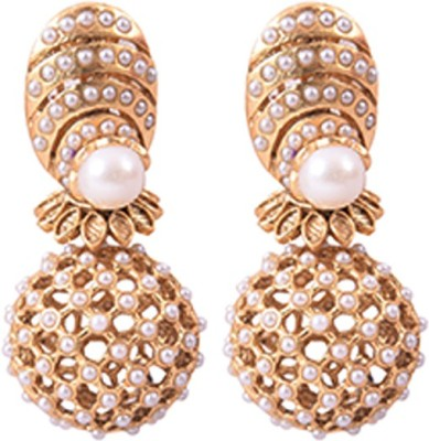 Dulhan 7 Zircon Alloy Drop Earring