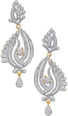 Kolkata Market Beautiful Lady Cubic Zirconia Alloy Drop Earring